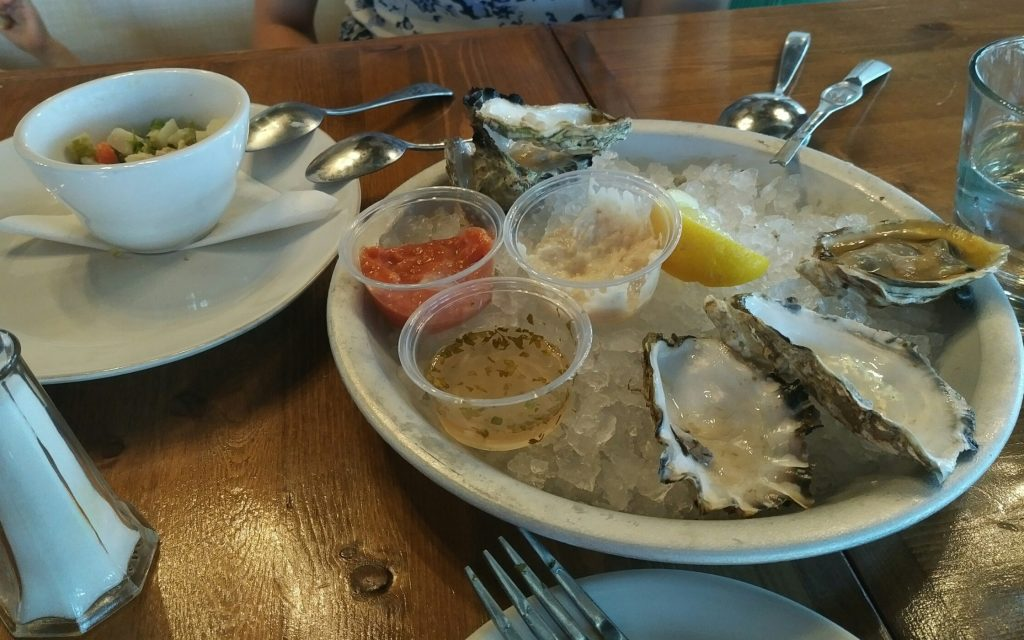 Lunch at Coast Grills & Oyster Bar