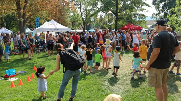 Penticton Summer Festivals