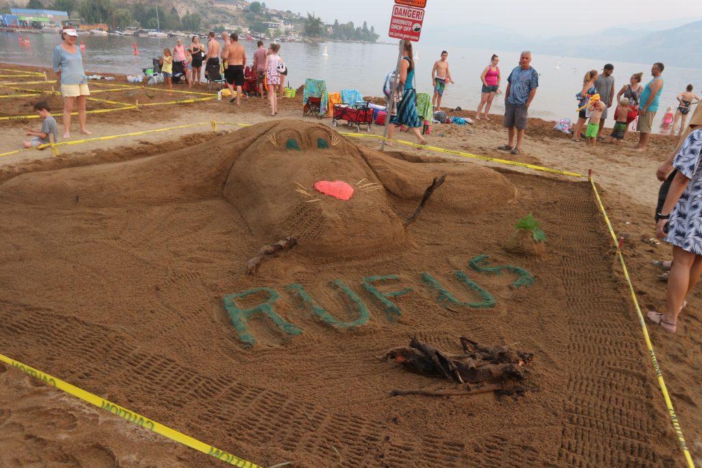 Penticton Peach Festival Sand Art
