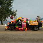 Peach Festival ③ Down Town でパレード
